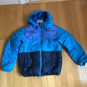 North face winter jacket size 6